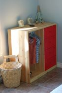 Kids small space clsoet storage