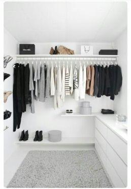 uniform closet
