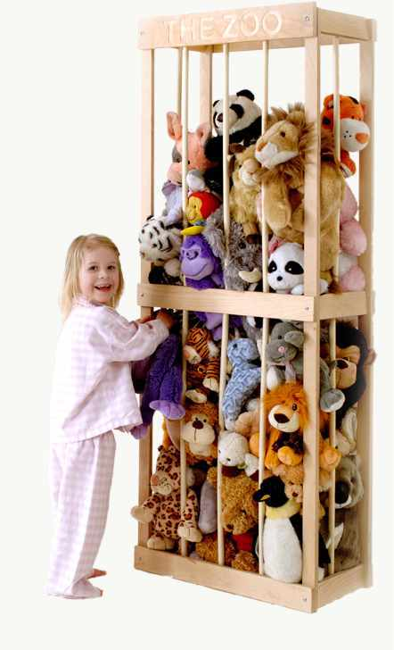Zoo Stuffed Animal Storage