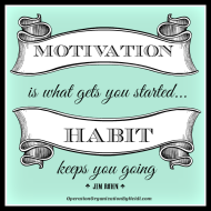 habit and motivation