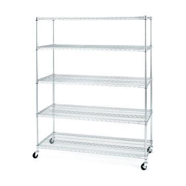 chrome shelf
