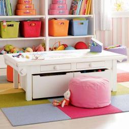 organized craft kids