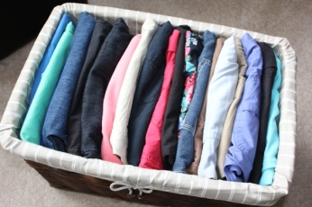Organizing-Shorts-for-Summer-2